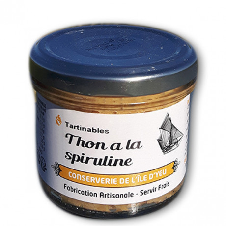 Thon à la Spiruline naturelle Tartinable Bretagne