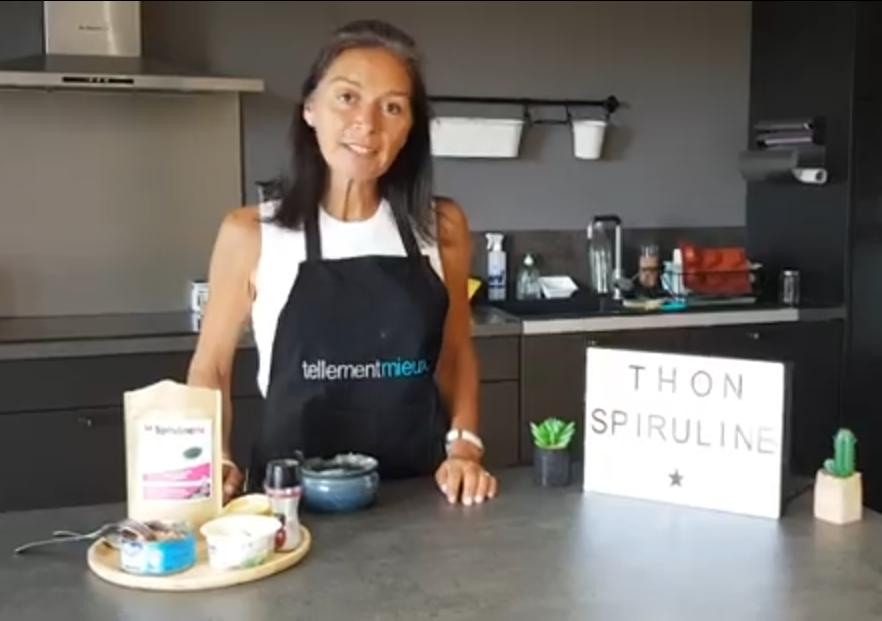 Consommer la Spiruline l'été recette avec du thon