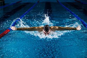 Spiruline bon pour les sports de résistance, natation