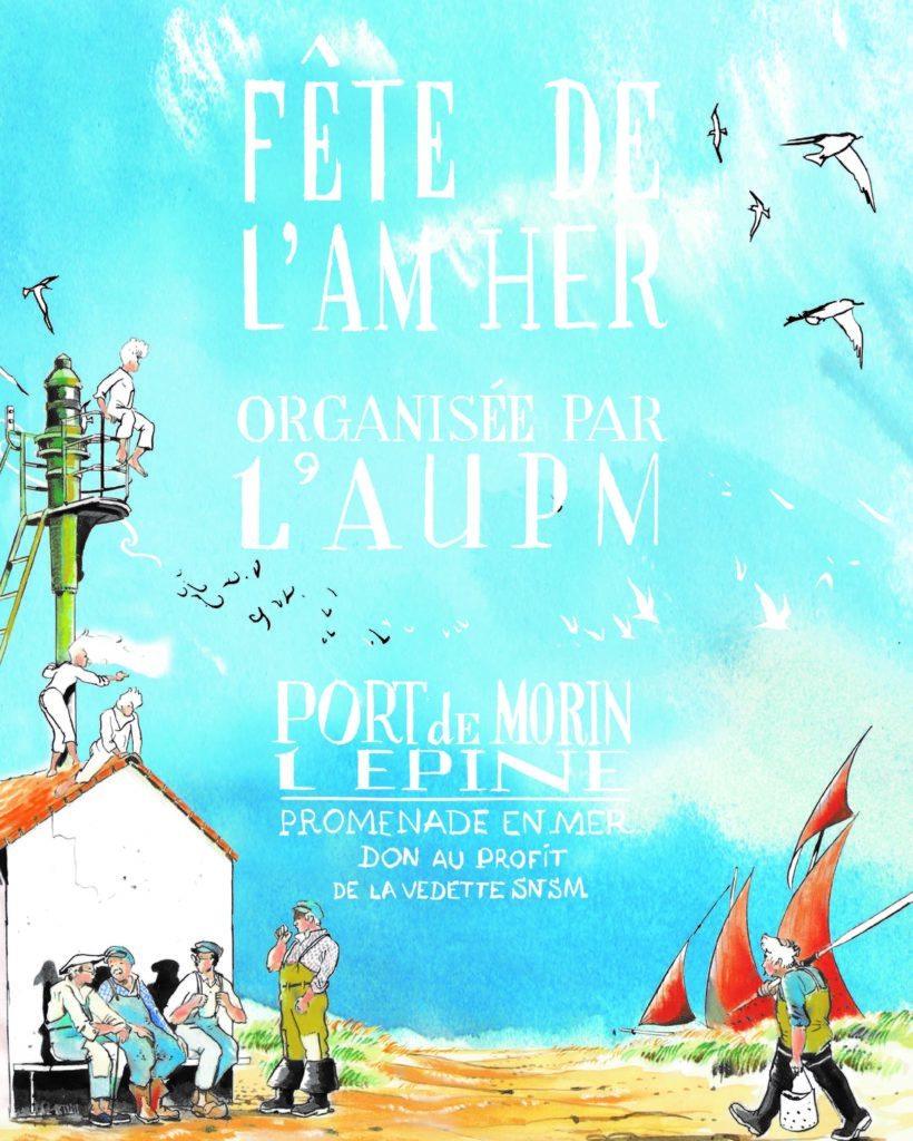 Fête de l'Am Her avec notre stand de piruline Bio ce Dimanche 18 Juillet au Port De Morin à L'Epine sur l'île de Noirmoutier-En-L'Île