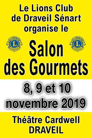 stand de Spiruline du 8 au 10 novembre 2019 au 4ème Salon des Gourmets à Draveil en région parisienne