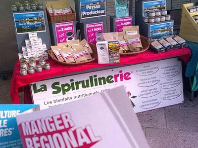 spiruline-de-bretagne-et-produits-artisanaux- à Challans -2019