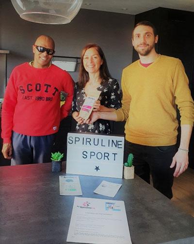 Partenariat complement nutrition sportive spiruline avec Ronan Pallier athlete de haut niveau