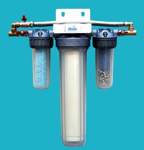 système de filtration et vitalisation de l'eau Amilo